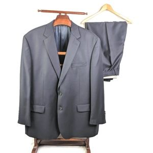 Ralph Ralph Lauren Blue Suit Mens 50R Pants 45R